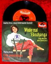 Single Audrey Arno & Hazy Osterwald: Wieder mal Paschan