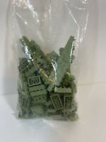 Vintage Modulex Green Lot Few Sizes  By Lego For Architects 1960's