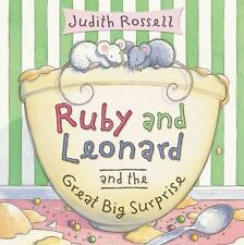 Ruby and Leonard and the Great Big Surprise-ExLibrary