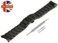 For EMPORIO ARMANI AR1452 Ceramic Black Full Strap/Band/Bracelet Watch 22mm Mens
