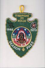Boy Scout, Itibapishe Iti Hollo 188, North Carolina, 2015 CENTENNIAL Season Pass