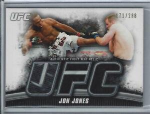 2010 TOPPS UFC KNOCKOUT JON JONES AUTHENTIC UFC 100 FIGHT MAT RELIC /288