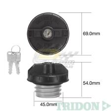 TRIDON FUEL CAP LOCKING FOR Ford Laser KC-KE 10/85-04/90 4 1.6L 8V TFL227