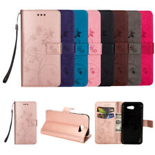 Flip Wallet Case Flower Leather Cover For Samsung Galgxy S7 S8 J320 J530 J730 EU
