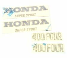 Tank and Side Cover Decals Decal Set ✰ Honda CB400F 1975-1976 ✰ Light Ruby Red
