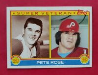 1983 Topps #101 PETE ROSE (Phillies) *Super Veteran Card* (NM-MT)  **FREE SHIP**
