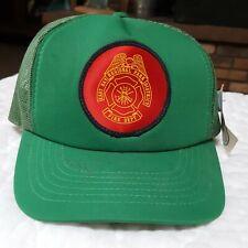 East Bay Regional Park District Fire Department Vtg Mesh Snapback Trucker Hat