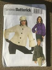 Butterick Sewing Pattern Misses Jacket Size 6-8-10-12