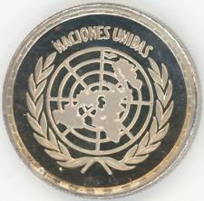 Equatorial Guinea 25 Pesetas 1970 UNITED NATIONS Gem Proof silver original case