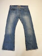 Men's Levi 512 'Bootcut' Jeans - W34 L30 - Faded Navy Wash - Great Condition
