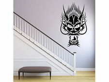 "Dragon Head Wall Decal 48"" x 29"" Graphic home bedroom decor"