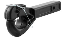 CURT 48004 Pintle Hook Hitch for 2-Inch Receiver, 20,000 lbs, Fits 2-1/2-Inch Lu