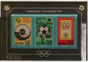 Uruguay,Scott#C398,Souvenir Sheet,MNH, Scott=$70