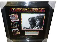Marc Bolan & Steve Peregrin Took SIGNED AUTOGRAPH Tyrannosaurus Rex AFTAL UACC