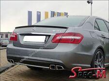 Painted Black 040 E63 AMG Look Trunk Lip Spoiler For W212 E250 E350 E550 Sedan
