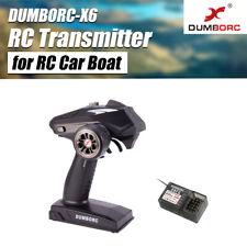 DUMBORC-X6 6CH 2.4G RC Radio Controller Transmitter+Mixed Mode X6FG Receiver UK