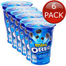 6 x OREO MINI CUP ORIGINAL VANILLA FLAVOUR COOKIES BISCUITS SNACK TREAT KIDS 67g