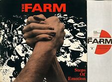 "THE FARM steps of emotion 5 track ep PRA T1 uk pa records 1985 12"" PS EX/VG+"