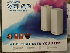 Linksys Velop Tri-Band Whole Home Wi-Fi System, 4-Pack AC