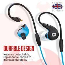 Auriculares azul para ordenadores