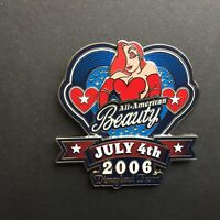 DLR - Fourth of July 2006 - All American Beauty Jessica Rabbit Disney Pin 46965