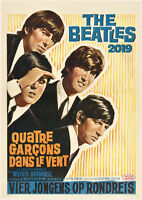 2020 Wall Calendar [12 pages A4] Beatles Vintage Music Photo Poster M966