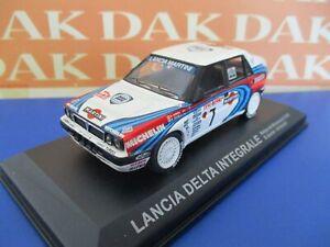 Die cast 1/43 Modellino Auto Lancia Delta Integrale Rally Montecarlo 1990 Auriol