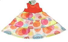 Desigual Mädchen Kleid, Größe 146-152, Orange-Bunt, UVP € 49 NEU