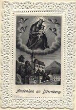 Maria Dürrnberg Wallfahrt Heiligenbild Spitzenbild PLZ 5400 Österreich (O-6989