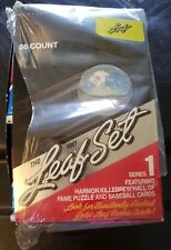 NEW Sealed Packs 1991 Leaf Set MLB Baseball Cards Box Series One 1 I 36 Packs