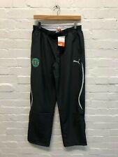 PUMA Sporting Lisbon FC Men's Woven Pants - Medium - Dark Grey - New