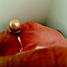 RING PEARL 18K  GOLD MAGNIFICENT