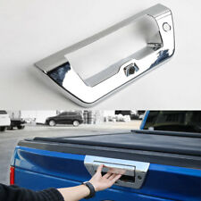 Auto Rear Trunk Door Tailgate Handle Cover Trim For Ford F150 2015+ Chrome ABS