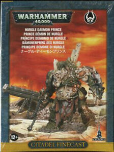 Nurgle Daemon Prince Chaos Space Marines Warhammer 40K NIB