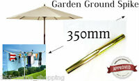 32mm Rotary Airer Washing Line Metal Ground Soil Spike Parasol Garden socket