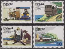 MADEIRA - 1985 Transport - 2nd series (4v) - UM / MNH