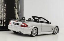 1 18 Mercedes-benz CLK DTM AMG Cabriolet Street C209 con tetto Argento Kyosho