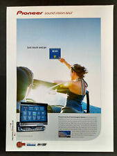 Pioneer - Touch Panel Navigation System - Magazine Advert #B3970