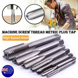 M3-M12 Pitch Tap Metric Flute Screw HSS Left hand Thread Tap CNC Machine Tool AU
