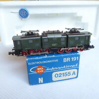 ROCO 02155A N Altbau-Stangen-Ellok BR 191 001-7 der DB Epoche 4, fast neuwertig