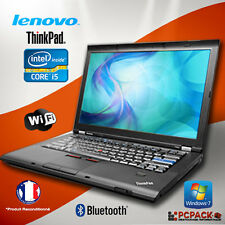PC Portable Lenovo Thinkpad T410 Intel Core i5 @ 2.4GHz 2Go 160Go Win 7 Pro