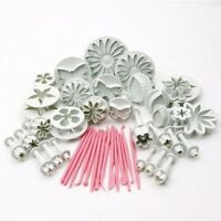 Cake Decorating Fondant Sugarcraft Icing Plunger Cutters Tools Mold Mould LB