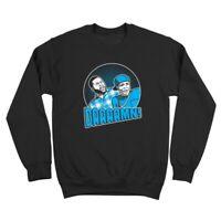 Daaaamn Friday Porch  Funny Humor 90S Weed Hip Hop Black Crewneck Sweatshirt