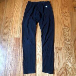 Abercrombie kids black leggings size 9/10