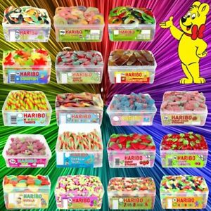 1 FULL TUB HARIBO SWEETS WHOLESALE DISCOUNT CANDY BOX PARTY FAVOURS TREATS
