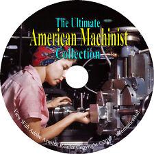 American Machinist 3 Books & 78 Magazines on DVD (Machinery Metalworking Etc.)
