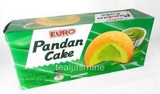 Euro Puff Pandan Cake with Pandan Cream Filling 6 Individually Wrapped 5.08 Oz.