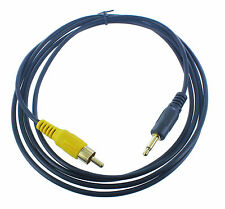 6 Ft Feet 3.5mm Mono Male to RCA Male audio Cable Gold Plated(3N1-R1-06)