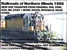 Best of 1988 Railfan DVD 1988- CCP-CNW-SOO LINE-BN-Frisco 1522-Lots Surprises!