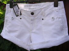 G-STAR RAW DESIGNER ~ BEAUTIFUL WHITE COTTON SHORTS~HOT PANTS (30) BNWT RRP £88